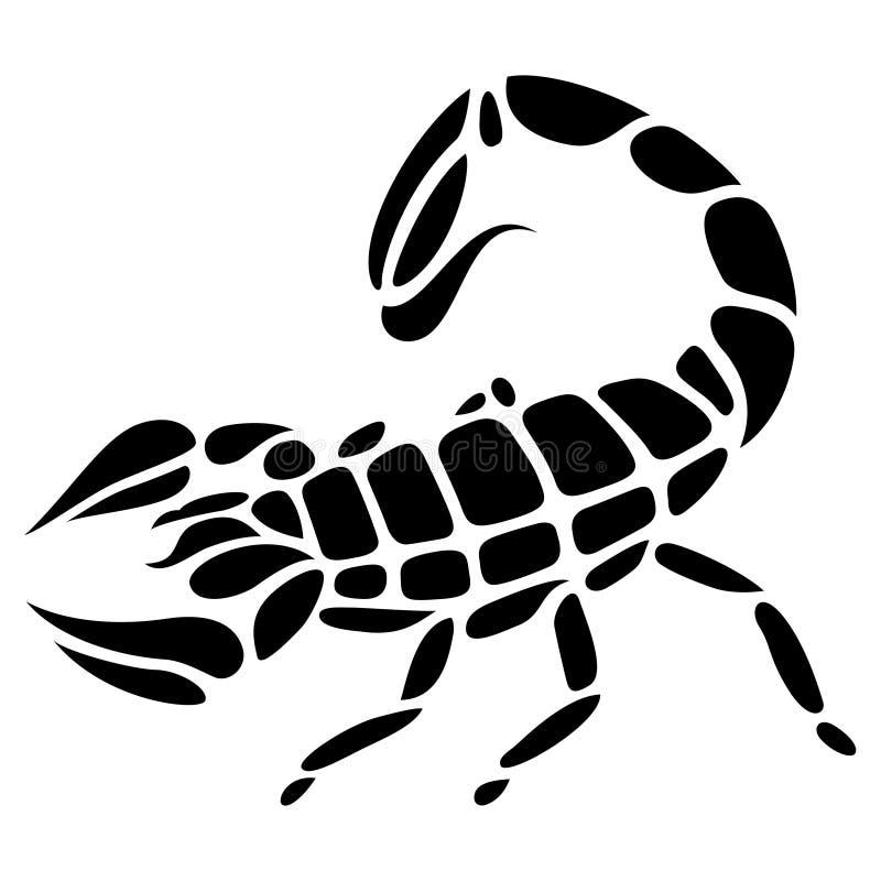 Tatuaggio dello scorpione royalty illustrazione gratis
