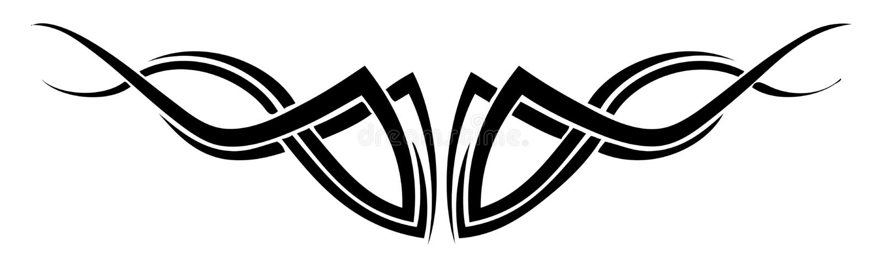 Tatuaggio - Editable illustrazione vettoriale