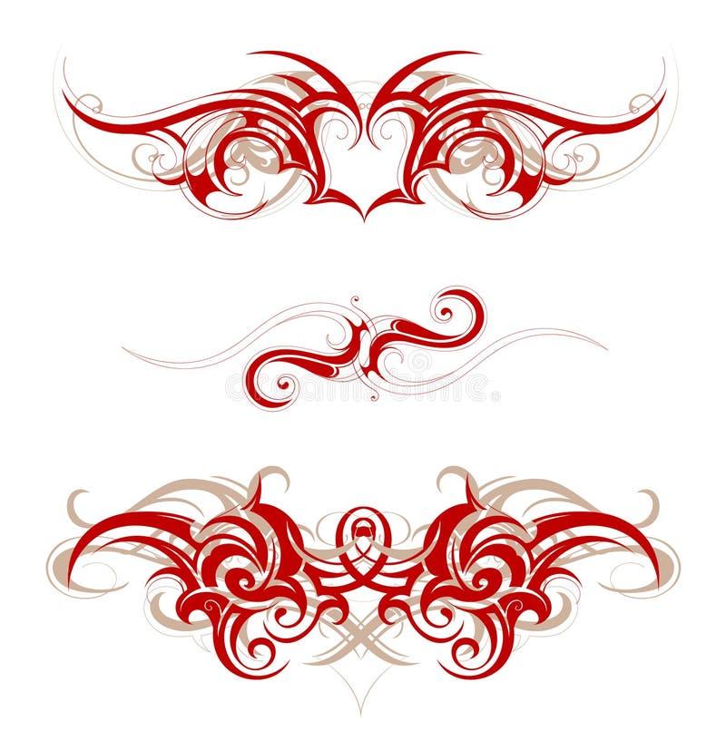 Download Tatuaggio tribale illustrazione vettoriale. Illustrazione di tribale - 30830233