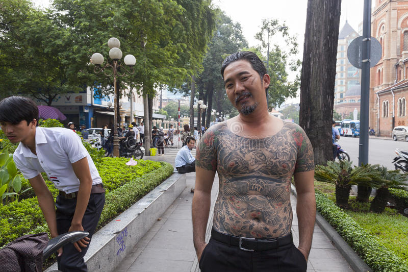 Tatuaje asiático clásico fotos de archivo libres de regalías