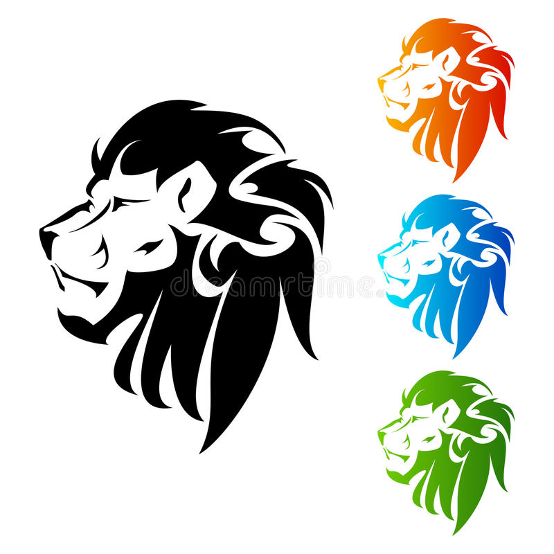 Tatuaje de Lion Head libre illustration