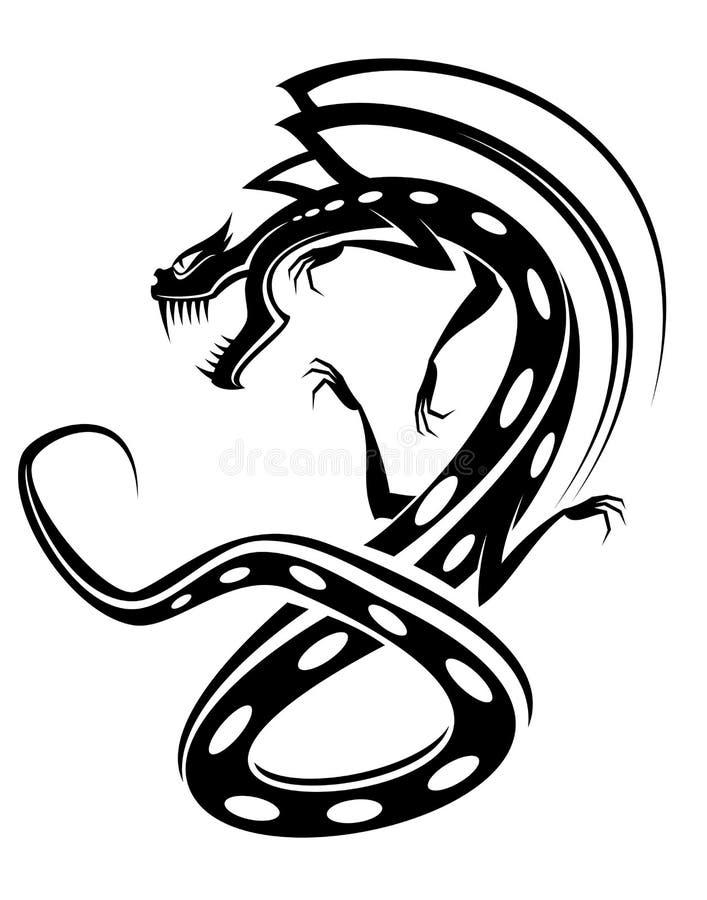 Tatuaje del dragón libre illustration