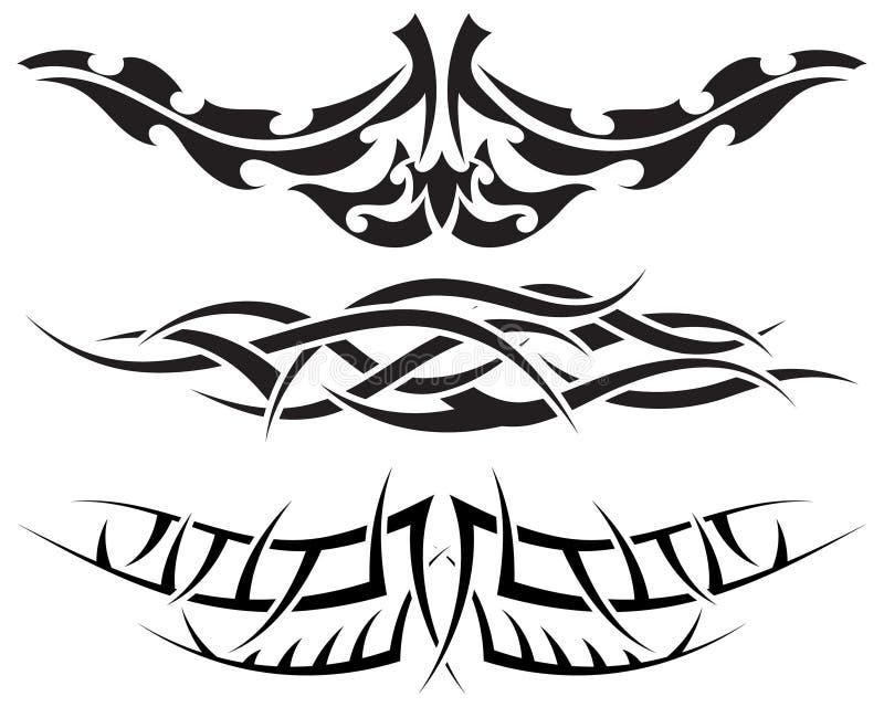 Tatuajes fijados libre illustration