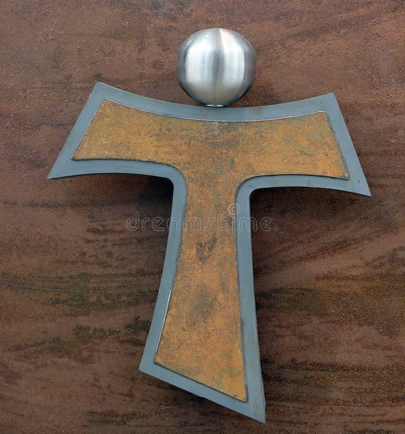 Tau Cross imágenes de archivo libres de regalías