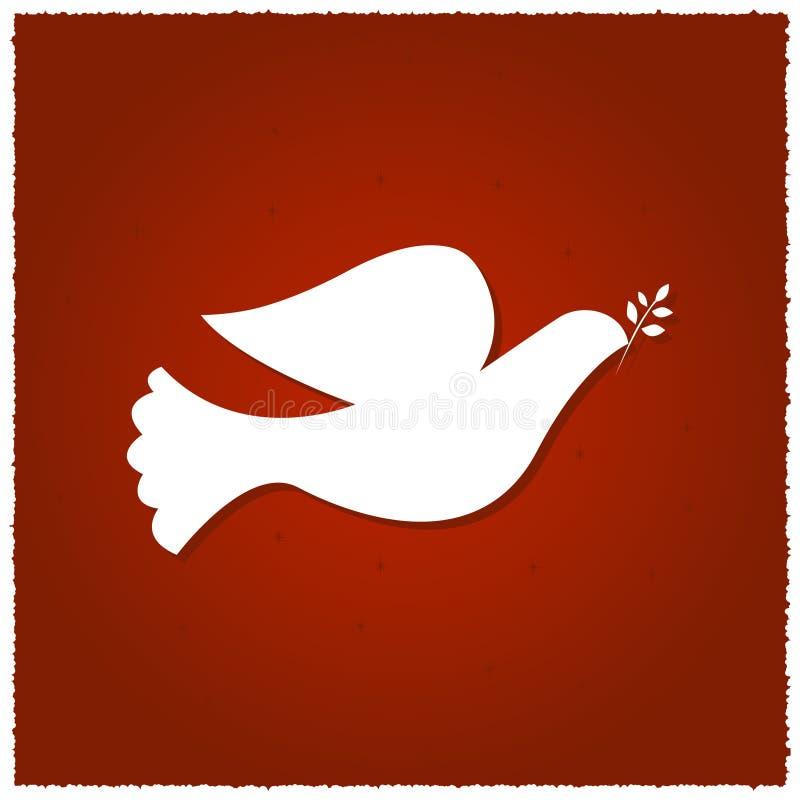 Taube des Friedens stock abbildung