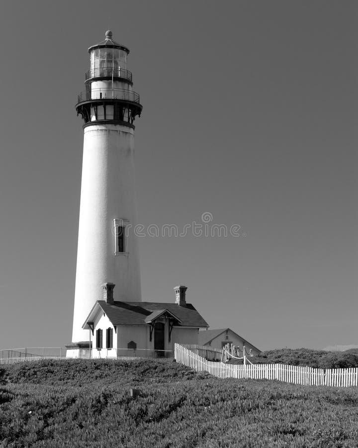 Taube-Punkt-Leuchtturm stockfotos