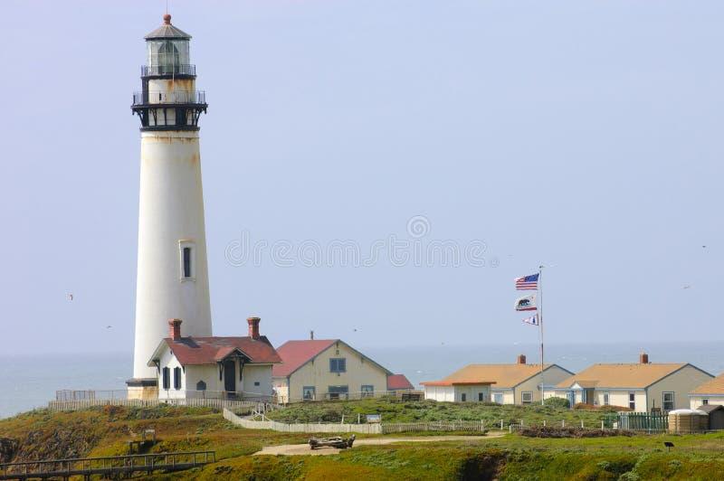 Taube-Punkt-Leuchtturm lizenzfreie stockbilder