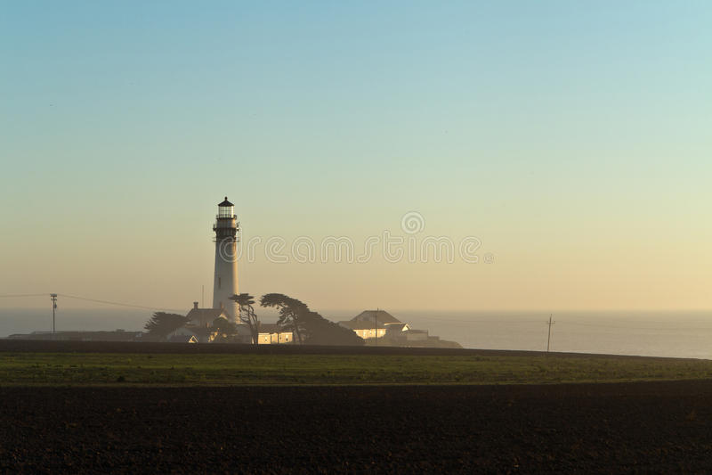 Taube-Punkt-Leuchtturm lizenzfreies stockbild