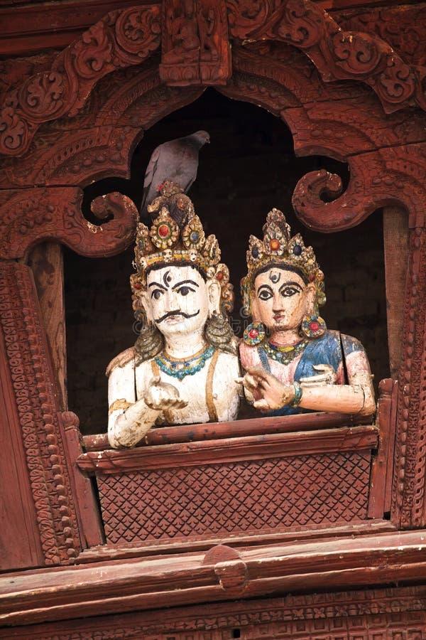 Taube und Shiva u. Parbati lizenzfreie stockbilder