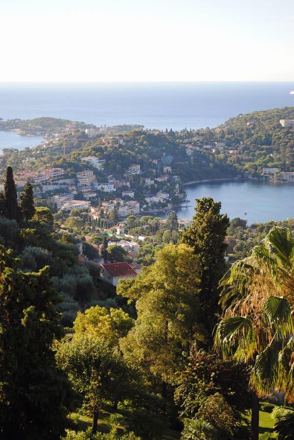 Taubenschlag d ` Azur strandnah, Nizza, Frankreich stockfotos