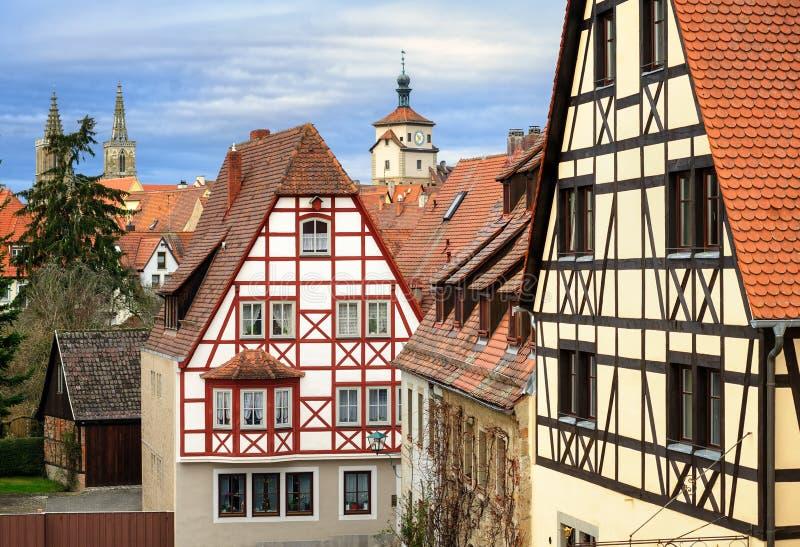 tauber rothenburg ob Германии der стоковая фотография