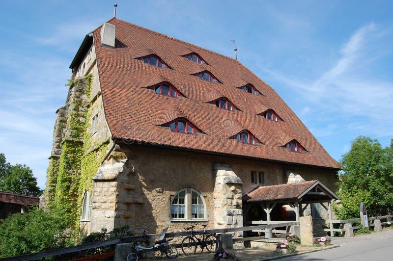 tauber rothenburg rossmuehle ob der стоковое изображение