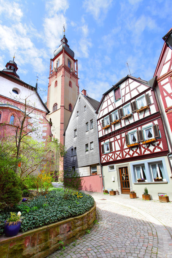 Tauberbischofsheim stockbild