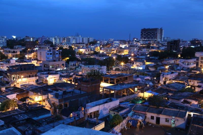 Taudis de Hyderabad, Inde photos stock