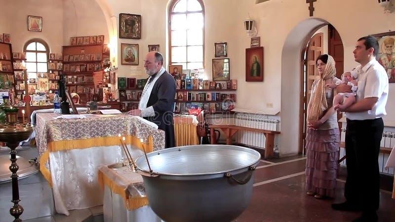 Taufe Des Kleinen Babys In Der Orthodoxen Kirche Säuglingstaufe Offenbarung Geständnis