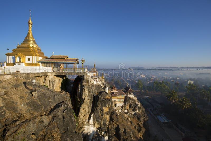 Taung Kwe Paya, Loikaw, Myanmar stockfotos