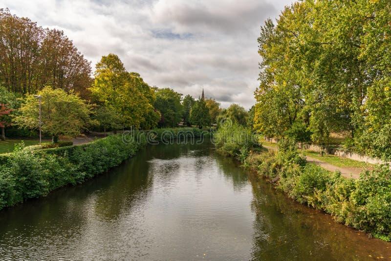 Taunton, Англия, Великобритания стоковая фотография rf