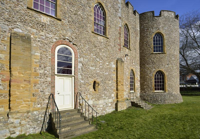 Taunton Castle στοκ εικόνες με δικαίωμα ελεύθερης χρήσης