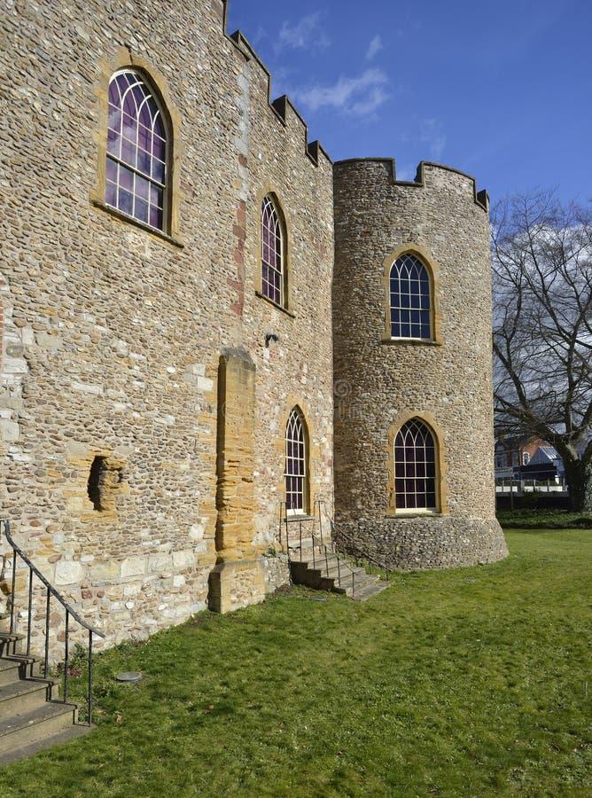 Taunton Castle στοκ φωτογραφία