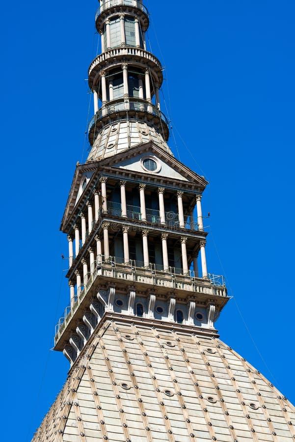 Taupe Antonelliana - Torino Italie image stock