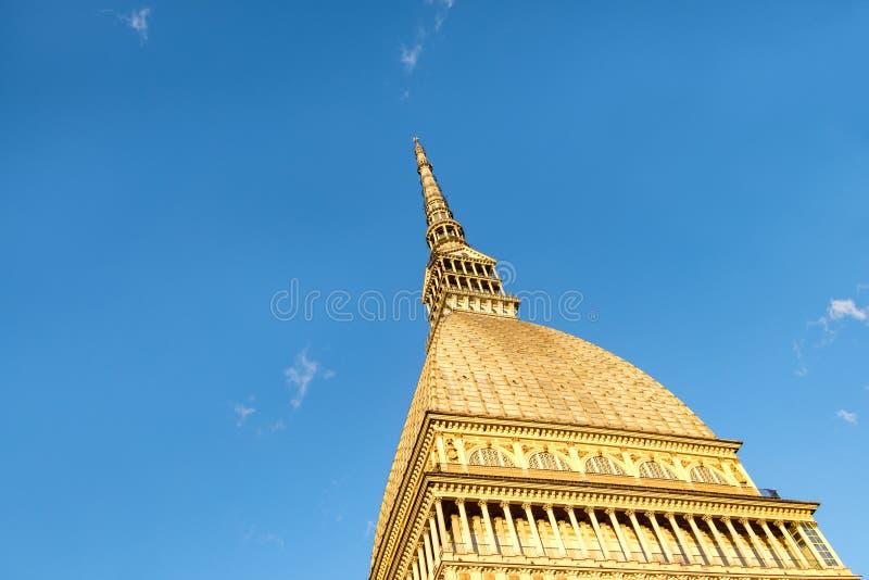 Taupe Antonelliana, Torino, Italie image stock