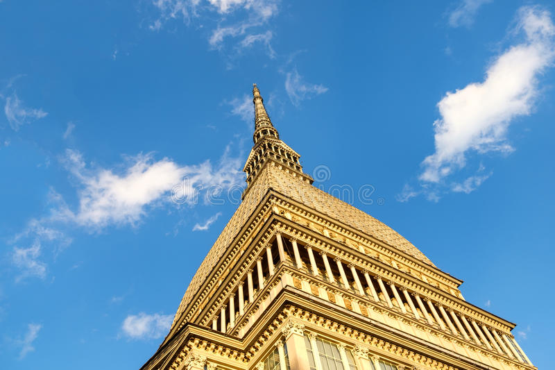Taupe Antonelliana, Torino, Italie image libre de droits