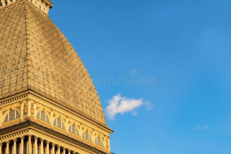 Taupe Antonelliana, Torino, Italie photos stock