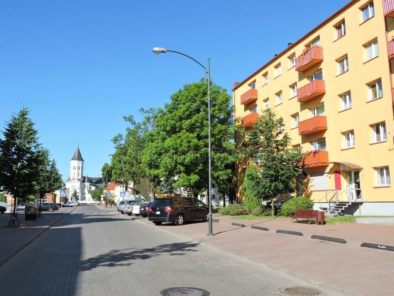 Tauragestad, Litouwen stock foto's