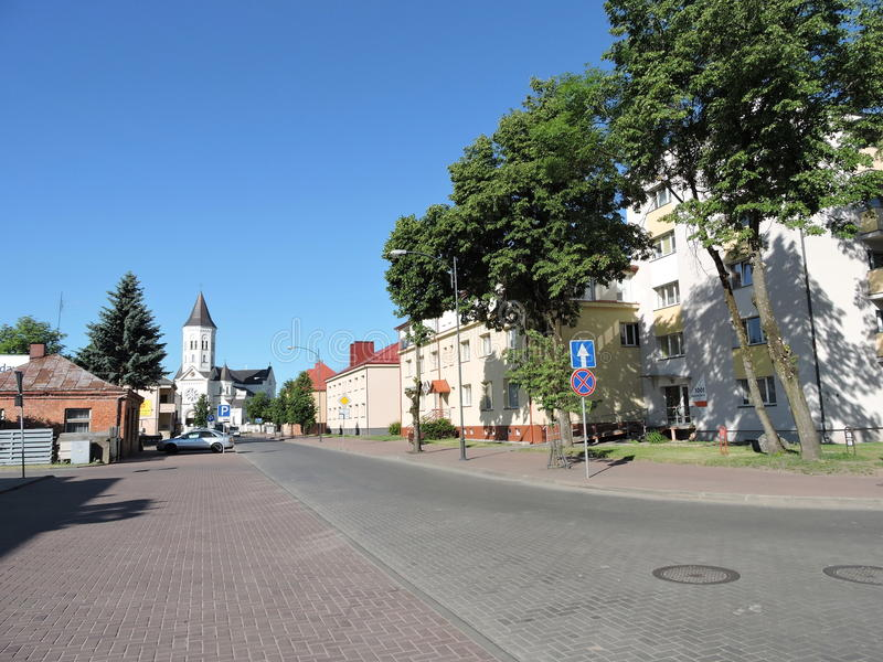Tauragestad, Litouwen royalty-vrije stock fotografie