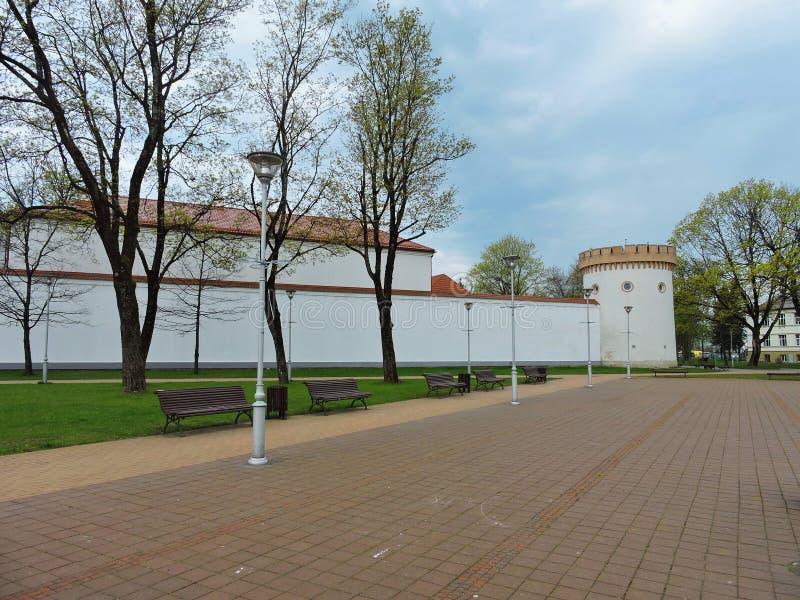 Tauragestad, Litouwen stock afbeeldingen