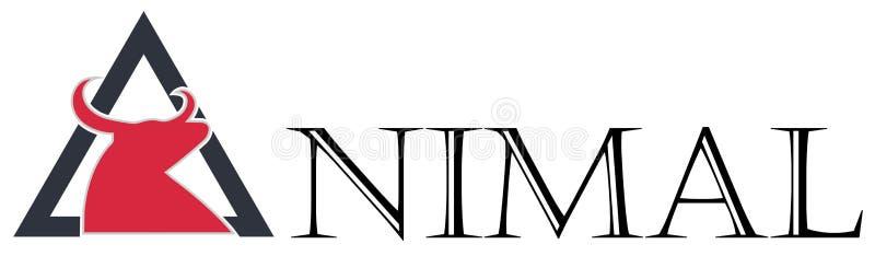 Taureau animal illustration de vecteur