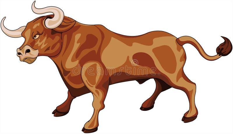 taureau illustration de vecteur