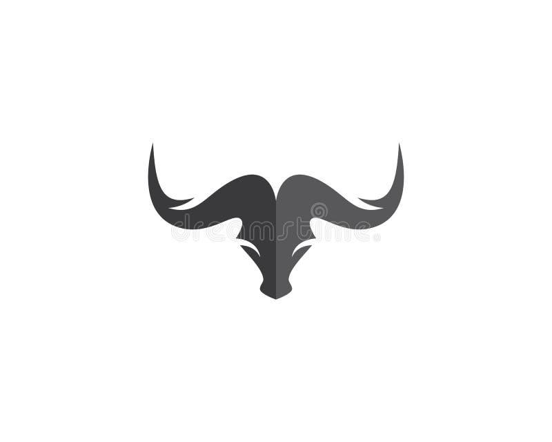 Taureau Logo Template illustration de vecteur