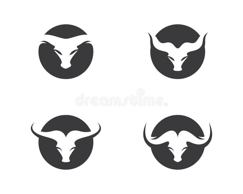 Taureau Logo Template illustration libre de droits