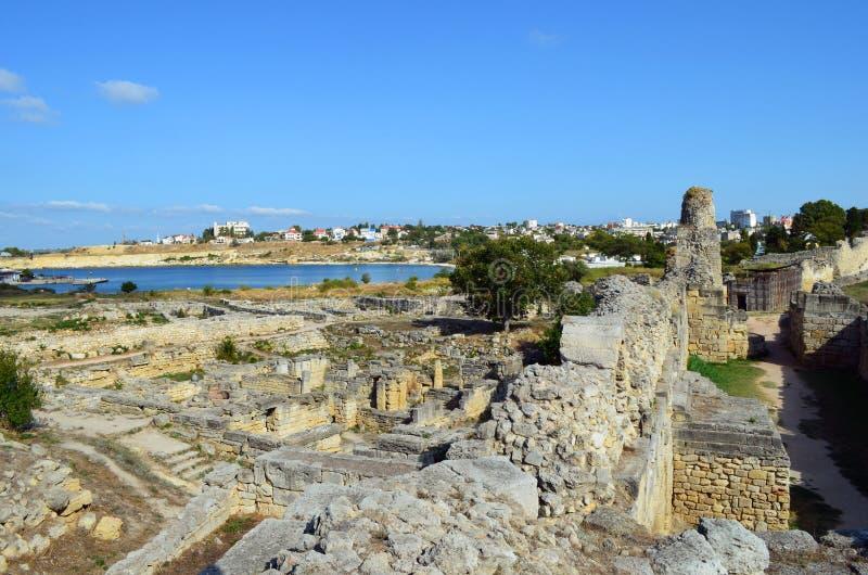 Tauric Chersonesos,克里米亚 库存图片