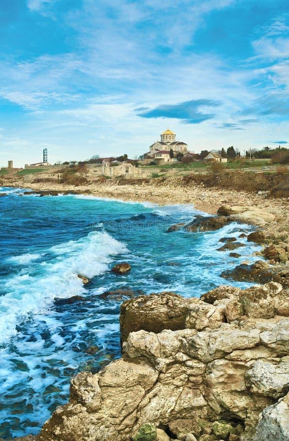 Tauric Chersonesos, Крым стоковое изображение