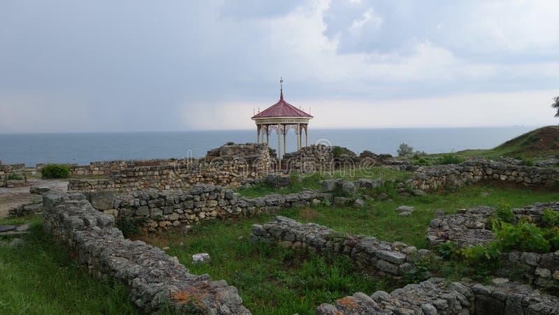 Tauric Chersonesos in Krim stockbild