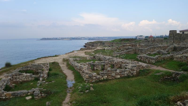 Tauric Chersonesos a Sebastopoli immagini stock libere da diritti