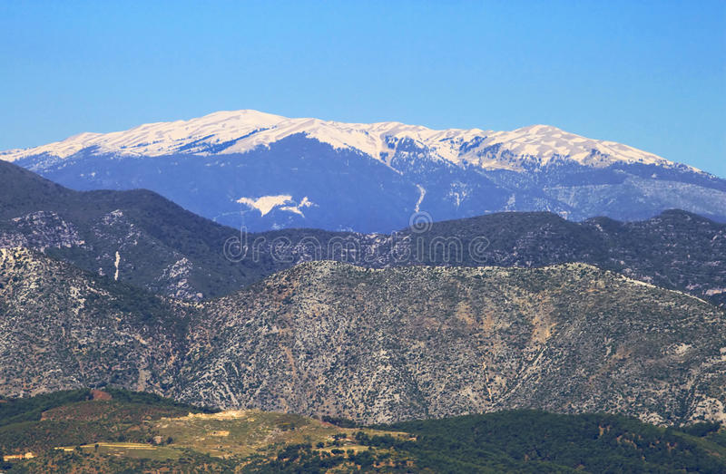 Taurus Mountains, Turkey stock images