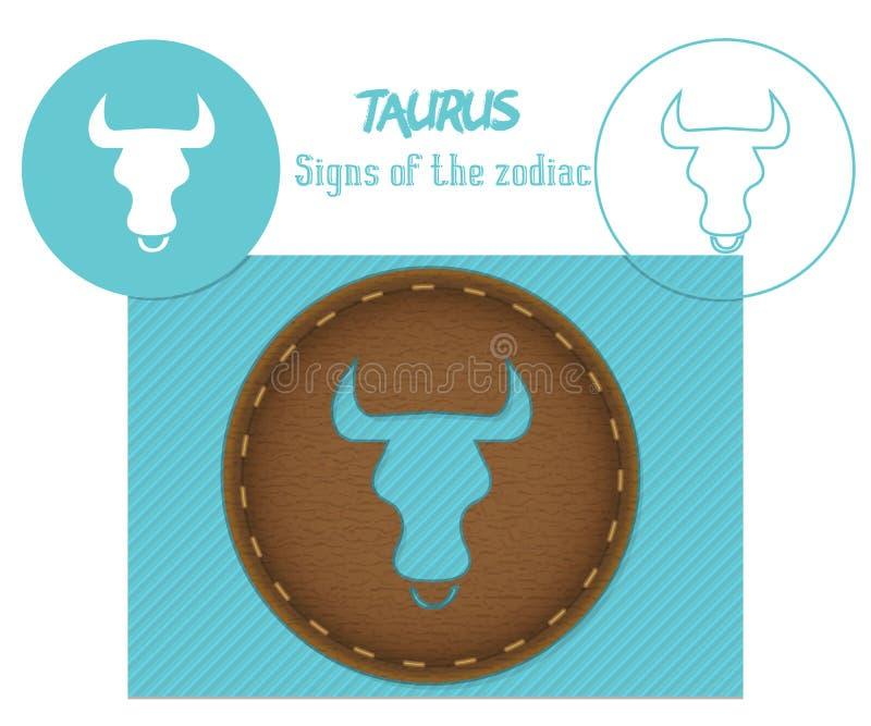 taurus zodiac σημαδιών Κοπή Lazenaya Μπορεί να χρησιμοποιηθεί για την κοπή λέιζερ του ξύλου, δέρμα, έγγραφο, χαρτόνι, πλαστικό απεικόνιση αποθεμάτων