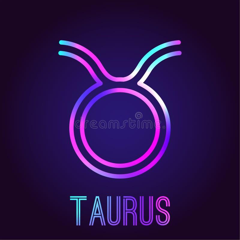 Taurus Zodiac Sign Stock Vector Illustration Of Illustration