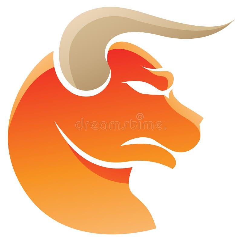Taurus zodiaka gwiazdy znak ilustracja wektor