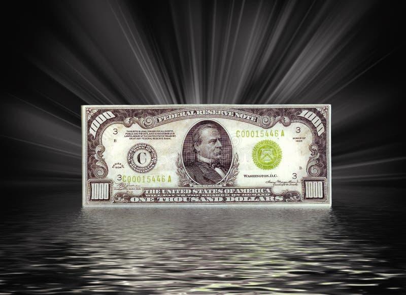 Tausend Dollarschein vektor abbildung