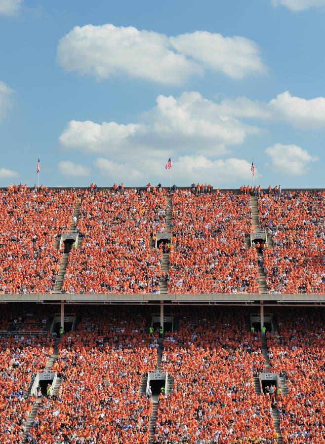 Tausenden in der Orange lizenzfreies stockfoto