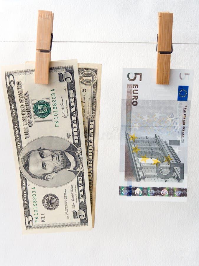 taux de change de comparaison photo stock
