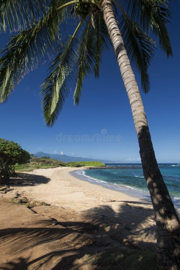 Tavares Beach,north shore, Paia, Maui, Hawaii stock photos