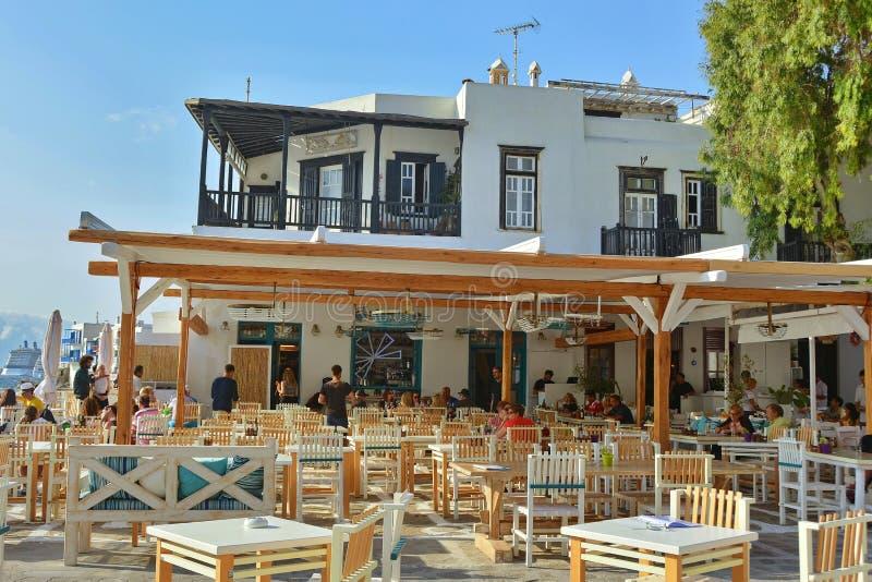 Taverna griego foto de archivo libre de regalías