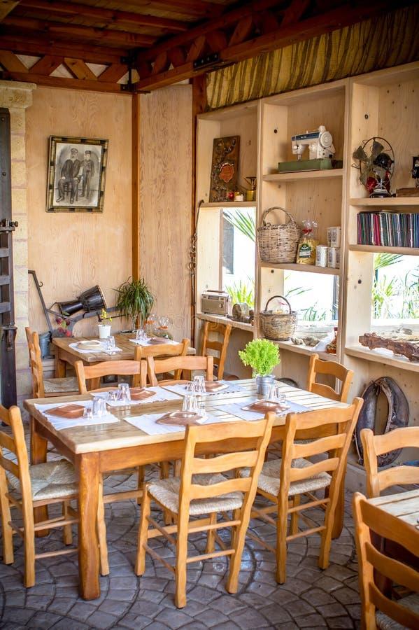 Taverna griego fotos de archivo libres de regalías