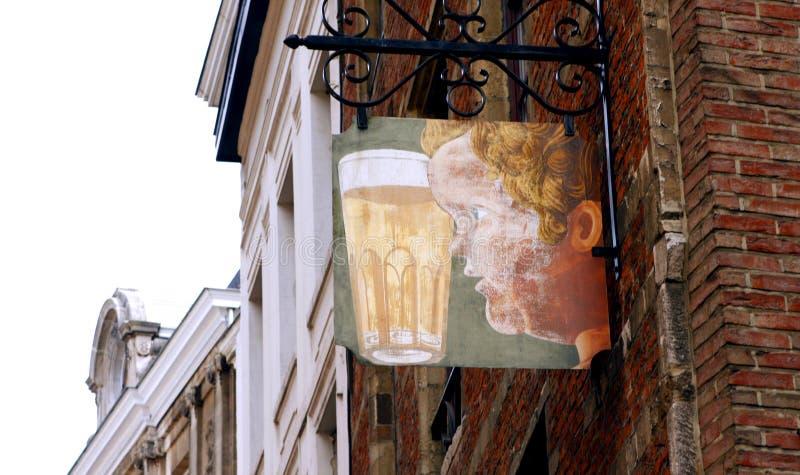 Taverne Bruxelles images libres de droits