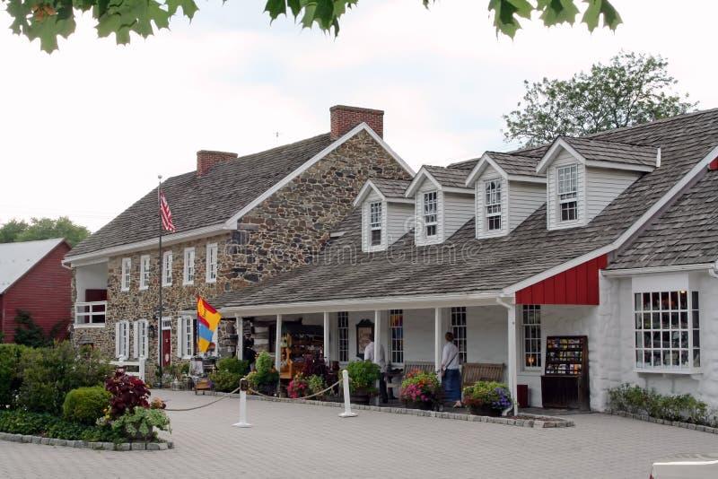 Taverne de Chambre de cheval de trait avec l'auberge de Gettystown image stock
